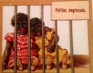 Petites Negresses, Paris, chromolithograph, 1897.